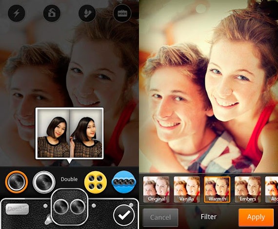 Efectos de fotos en Android