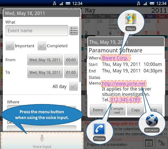 Calendario para Android