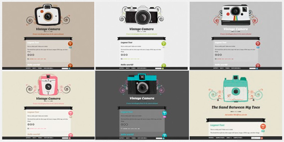 Theme para WordPress microblogging