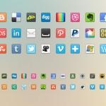 Iconos sociales de todas las redes gratis