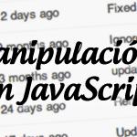 Manipulación de cadenas con JavaScript