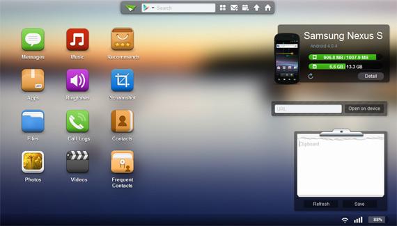 Controlar Android desde PC