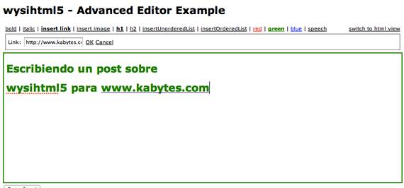 editor HTML5 gratuito