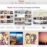 Combinación de Instagram y Pinterest