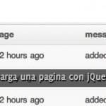 Controlar la forma en que se carga una pagina con jQuery