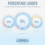 Plugin jQuery de porcentaje de carga