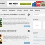 Theme para Wordpress de dos columnas