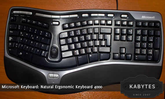 analisis Natural Ergonomic Keyboard 4000