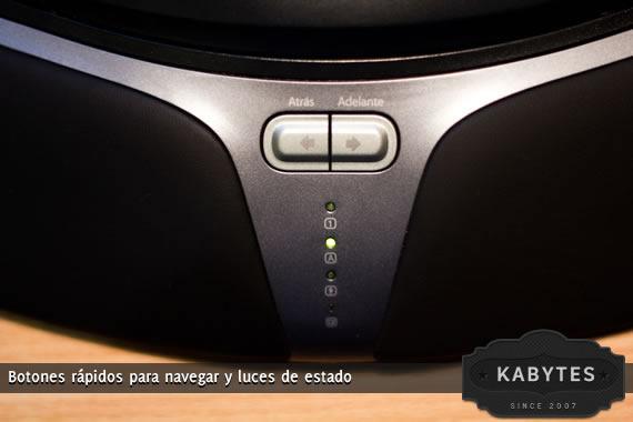 botones navegacion teclado