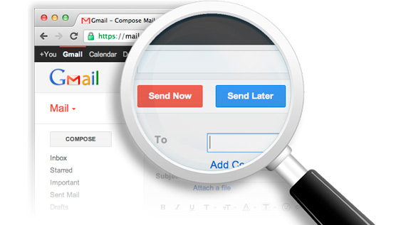 Enviar mails programados en GMail