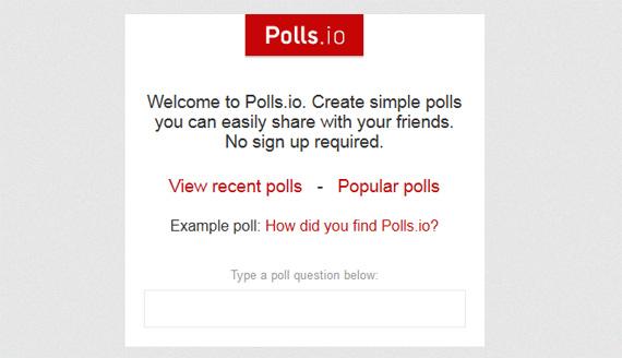 Encuestas para Facebook y Twitter