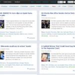 Noticias de Google estilo Facebook