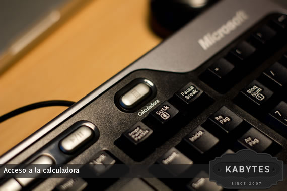 teclado calculadora
