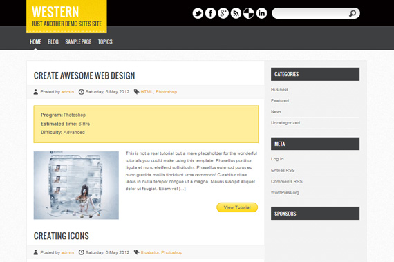 Theme para tutoriales en WordPress