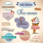 Vista previa de uno de los paquetes de helados en formato vector