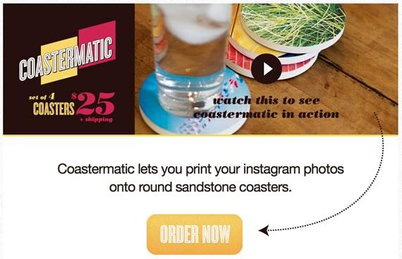 Vista previa del sitio de Coastermatic