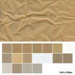 Vista previa de texturas de papeles y cartones
