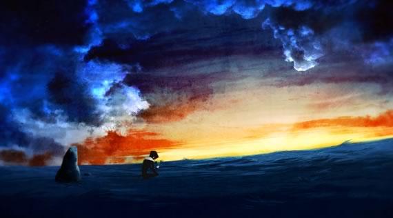 Screenie de Ad Lucem, corto de animación