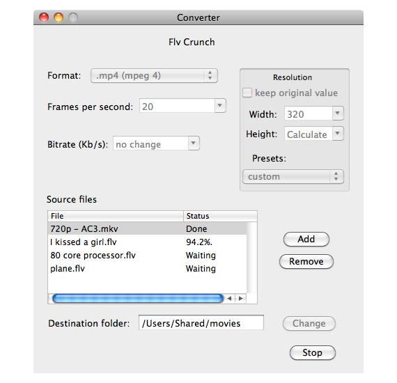Convertir archivos FLV en Mac
