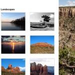 Oversized: Theme para fotografías de excelente resolución