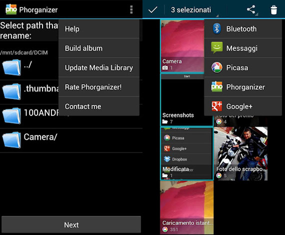 Organizar imágenes en Android