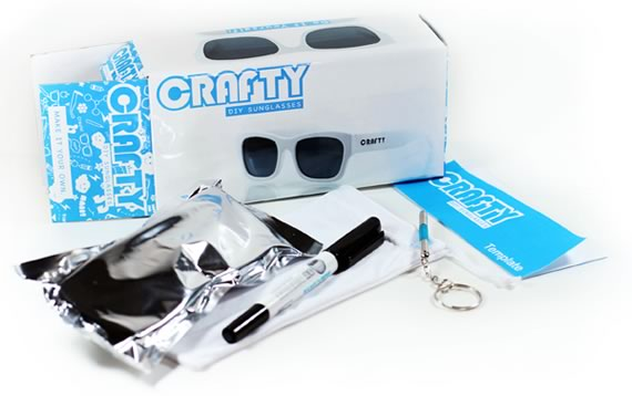 Vista previa de Crafty DYI Sunglasses kit