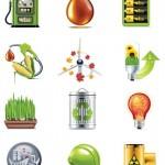 Vista previa de iconos de biocombustibles
