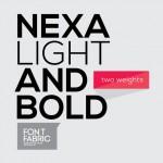 Vista previa de Nexa, tipografía.