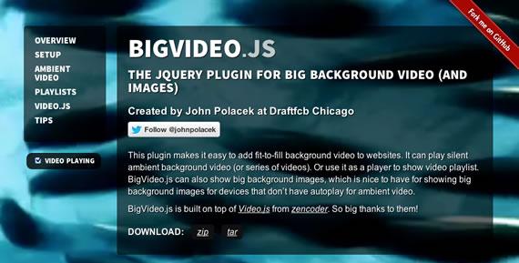 video mp4 como fondo con jquery