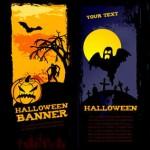 Vista previa de banners para Halloween