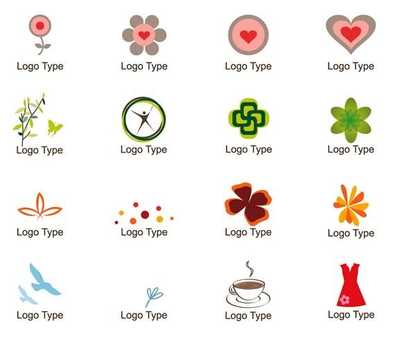 Vista previa de elementos para logos