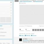 Vista previa de GUI de Twitter en PSD