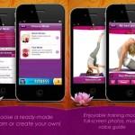 Screenies de aplicación de Yoga para iOS