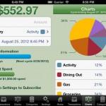 Vista previa de panel de Spense, sistema para finanzas en iOS