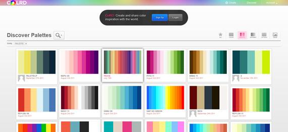 Generador de paletas de colores