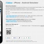 Emulador de sitios para móvil