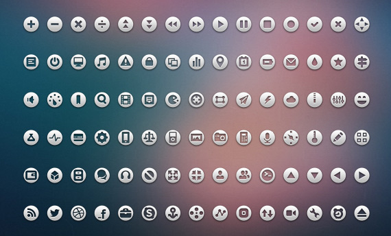 Iconos pixel perfect