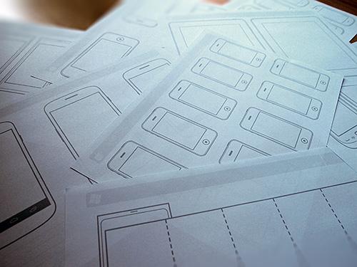 Plantillas para imprimir para dise ar aplicaciones m viles for Aplicacion para disenar interiores