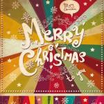 Composiciones coloridas para Navidad