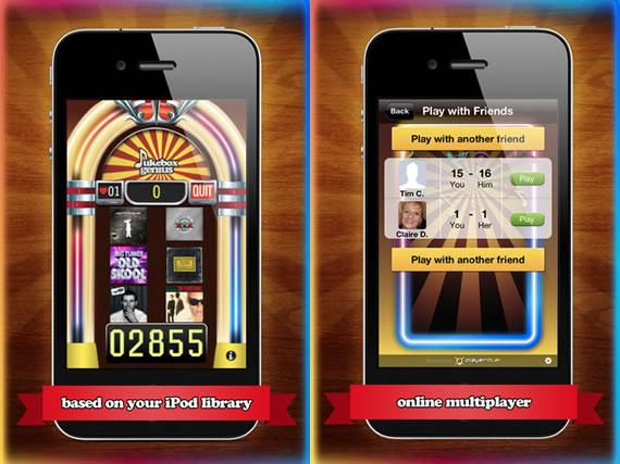 Vista previa de pantallas de Jukebox Genius