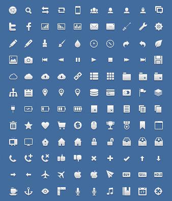 iconos gratis para aplicaciones web