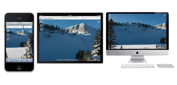 imágenes panoramicas con zoom con JavaScript