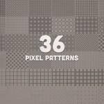 Vista previa de patrones píxel en formato PAT