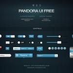 UI gratis gama de azules