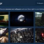 Descargar wallpapers directo a una cuenta en Dropbox