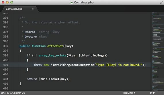 esquema de colores para sublime text 2