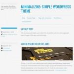 Theme minimalista para Wordpress