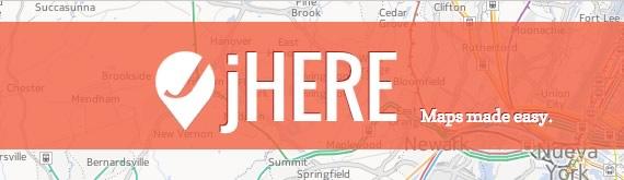 usar los mapas de nokia con jQuery