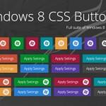 Vista previa de botones Windows 8 Metro en CSS