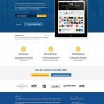 Vista previa de Meteorapp, plantilla para web de aplicación móvil